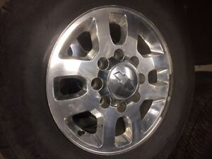"""18"""" GM /Chevy 3500 rims. Rims are in 8.5/10 shape."""