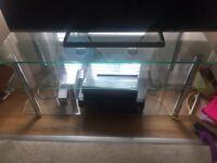 Tv glass unit forsake in llandaff