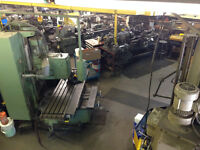Full Blown Machine Shop for your machining needs!!!
