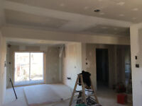 Drywall and Plastering , Pose Gyproc et Platrage