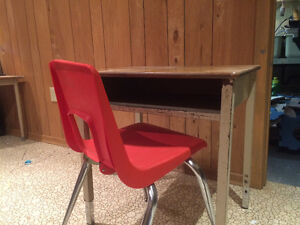 Sturdy school desk and chair London Ontario image 1