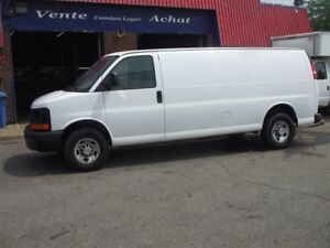 "Chevrolet Express Cargo Van RWD 3500 155"" ALLONGÉ 2007"