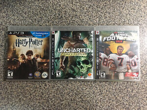 collection of 3 PS3 games