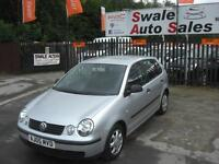 2005 VOLKSWAGEN POLO E 1.2L ONLY 70,379 MILES IDEAL 1ST CAR