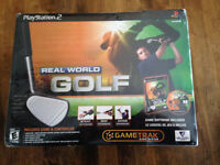 Playstation 2 jeux real golf