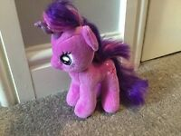 My little pony teddy - Twilight Sparkle