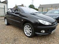 Peugeot 206 2.0 SE COUPE CABRIOLET (black) 2002