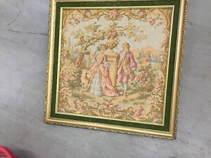 French tapisseri tableau