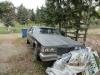 Cadillac Seville for restortion or parts