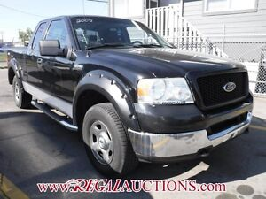 2005 FORD F150  SUPERCAB 4WD