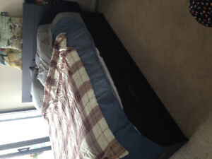 King size bed and frame for sale