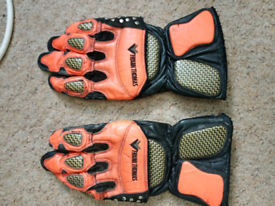 Frank Thomas Motorbike gloves size L