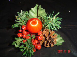 SELECTIONS OF CHRISTMAS PINE CONE PIC ACCENTS FOR DECORATING Windsor Region Ontario image 6