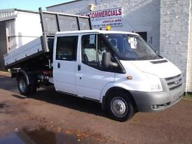 Ford Transit 2.4TDCi Duratorq ( 115PS ) 350 LWB Double CabTipper