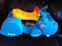 Baby toy ride and walk