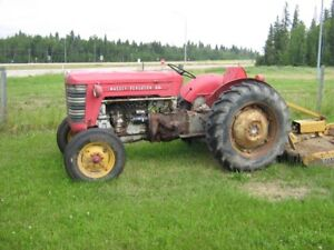 MASSEY FERGUSON 50 TRACTOR WITH 3 POINT HITCH