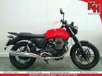 Moto Guzzi V7 II Stone 2014 Red - One Owner, Rear Carrier, Service and Warrant