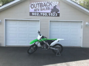 2015 KAWASAKI KX250F DIRT BIKE