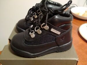 Timberland waterproof boots Boys toddler Black size 8