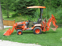 Kubota BX 22 Loader Backhoe