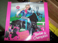 Barbie and Champion Set