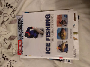 Ice Fishing Book and Fishing Magazines