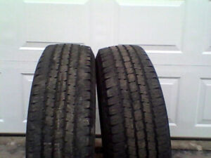 """LT245/75R16"" Michelin LTX""  M&S"
