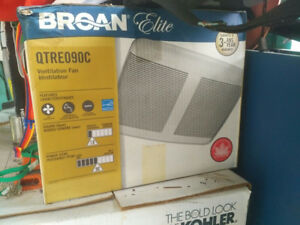Broan Elite QTRE090C Ventilation Fan