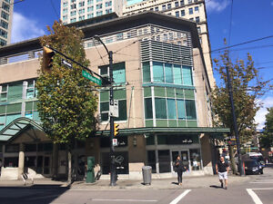 Great retail unit for sale in Downtown Vancouver
