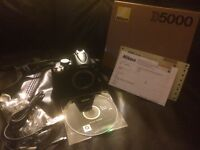 Nikon D5000 (In the box with warrantee)