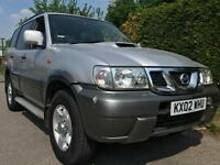 2002 Nissan Terrano SVE 3.0 Diesel *** 7 Seater ***