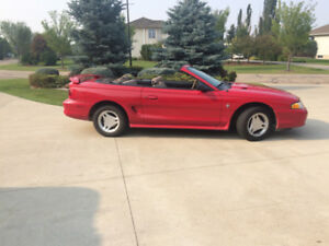 1996 MUSTANG CONVERTIBLE-NEWER MOTOR