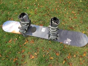 Board, boots and binding