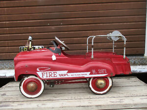 Jet Flow Drive No 287 Fire Truck Pedal Car