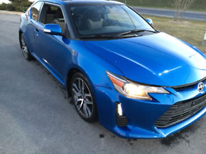 Scion tc 2014 bleu