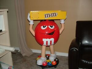 M & M Chocolates Shop Display