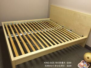 Brand new king beds