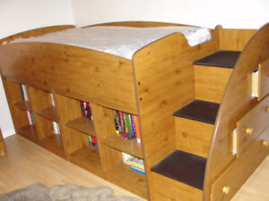 Youth loft bed