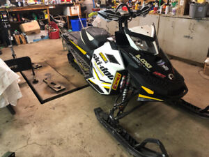 Skidoo renegade backcountry x