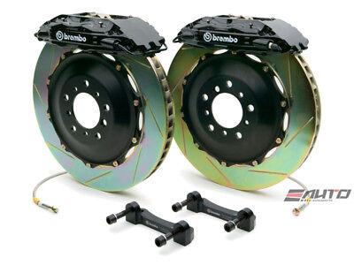- Brembo Front GT Brake 4piston Caliper Black 332x32 Slot Disc RX7 RX-7 FD3S 93-95