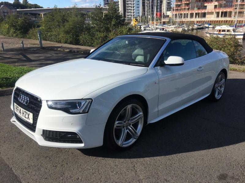 2014 AUDI A5 TDI S LINE SPECIAL EDITION CONVERTIBLE DIESEL