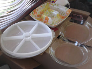 assiette tupperware