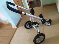 Quinny buzz frame with adaptors £30