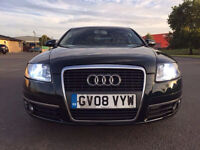 (08) AUDI A6 SALOON 2.0 TDI LIMITED EDITION 5 DR 2008 FULL LOADED FULL SERVICE HISTORY