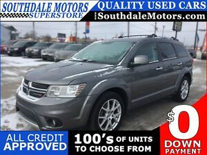 2013 DODGE JOURNEY R/T * AWD * LEATHER London Ontario image 1