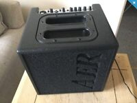 AER alpha acoustic amp and gig bag