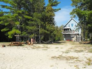 all inclulusive per month 1 acre private Watrerfront beach house