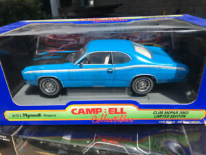 Plymouth Duster 1971 Campbell Collection diecast 1/18 die cast