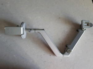 Monitor arm with base