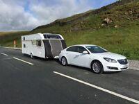 Tow pro caravan cover Sprite major